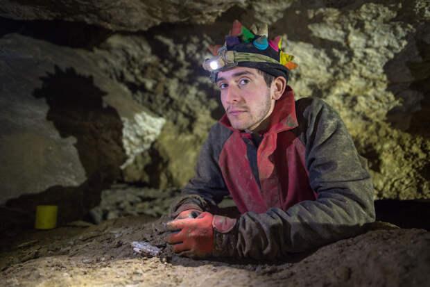Портрет спелеолога. Пещера Оптимистическая