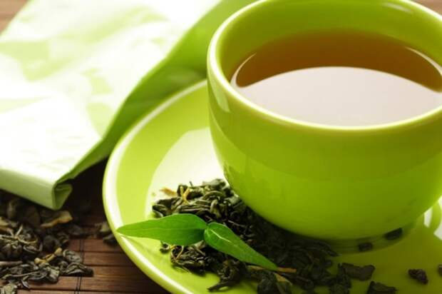 Зелёный чай. \ Фото: w-dog.ru.