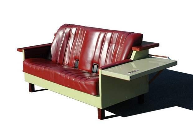 12. Дизайнер Адриан Джонсон создал диван-холодильник Фабрика идей, дизайн, интересно, места для хранения, полезно, фото