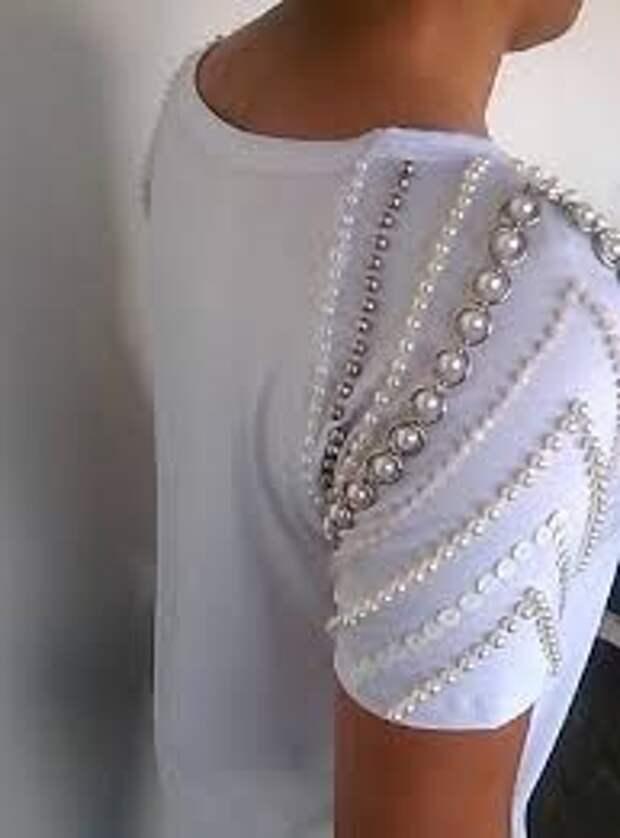 Бусины в декоре одежды