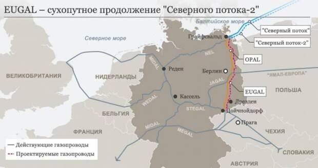 Россия готова обогреть Германию хоть водородом
