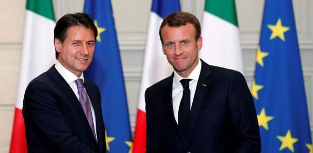 Италия – Франция: линия разлома