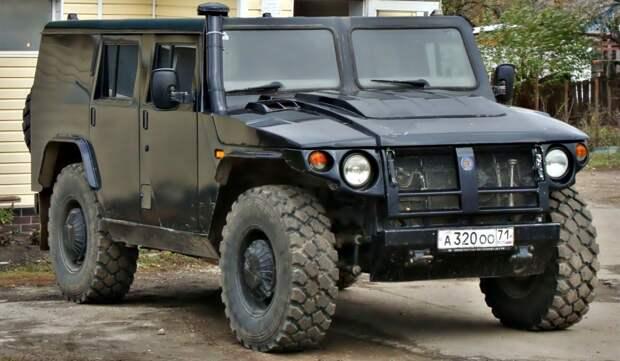 ГАЗ «Тигр» — российская альтернатива американскому «Хаммеру»