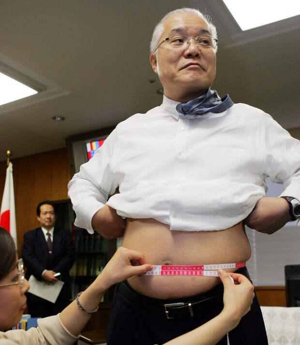 Удивительный японский штраф на полноту