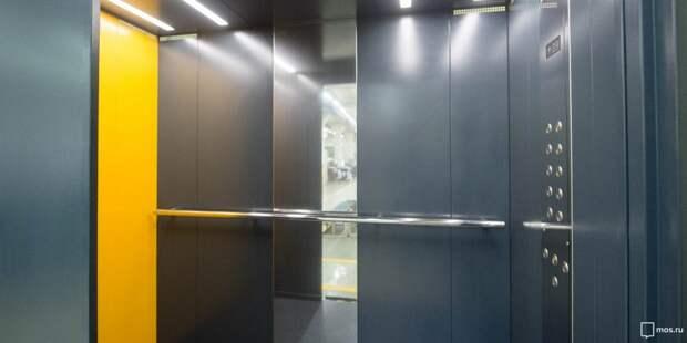Лифт в доме на Енисейской очистили от надписей