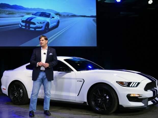 Mustang GT350 похвастал мощнейшим атмосферником Ford