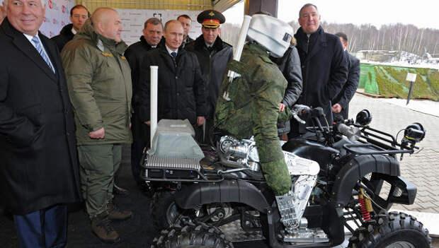 Президент РФ В.Путин посетил центральный научно-исследовательский институт точного машиностроения
