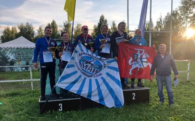 Команда МАИ стала победителем соревнований по авиамодельному спорту среди пяти стран