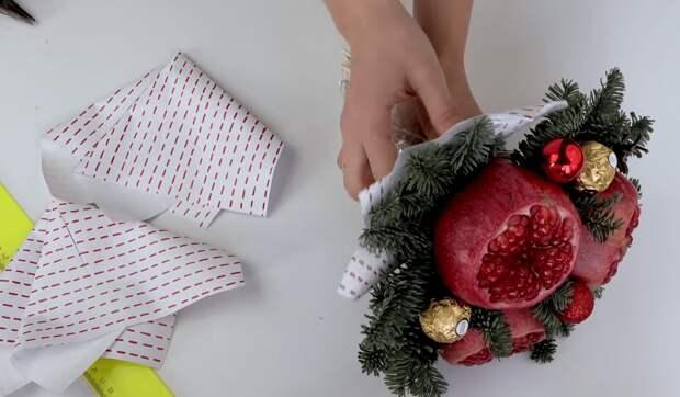 Возьмите гранат и сделайте шикарный и оригинальный подарок