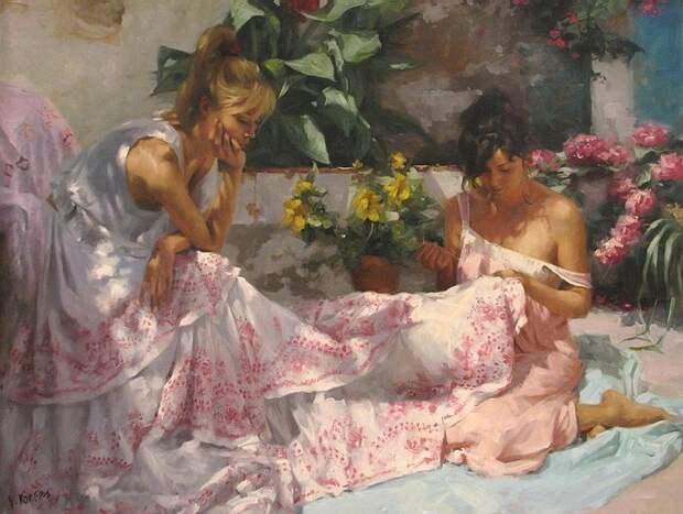 """""""Тающие"""" женские образы от Висенте Ромеро"""