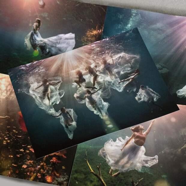 Девушки под водой на потрясающих снимках фотографа-фридайвера ЛексиЛайн