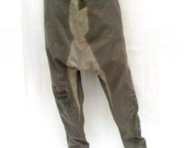 Мужские джинсы из кусков