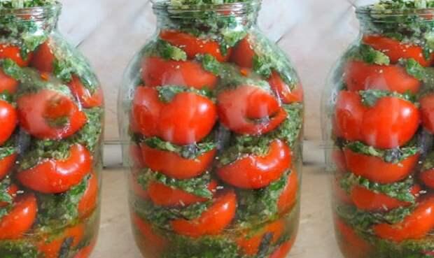 Вкусные помидоры по-корейски…