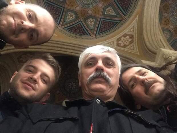 Националист Корчинского из «Братства» напал на сотрудника посольства РФ в Киеве