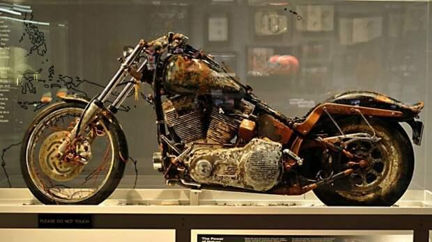 Harley-Davidson, который самостоятельно пересёк Тихий океан авто, мото, мотоцикл