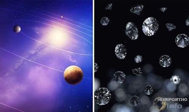 Как алмазы стали первыми минералами во Вселенной