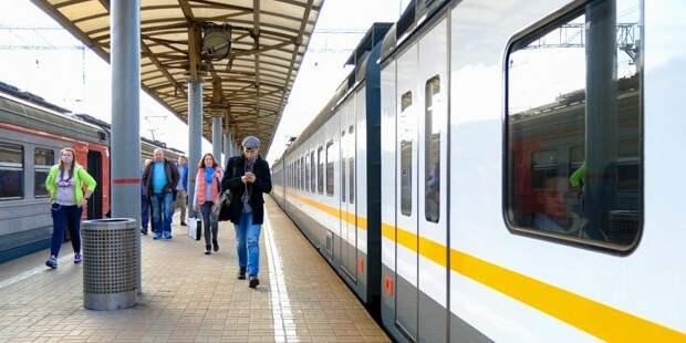 Расписание электричек от станций Молжаниново и Новоподрезково изменится 7-8 апреля