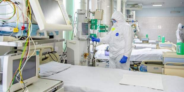 Собянин открыл коронавирусный стационар на базе частной клиники/ Фото mos.ru