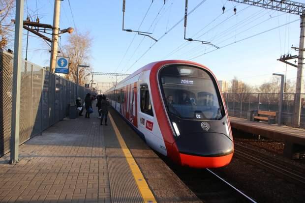 Расписание движения поездов МЦД-2 изменили до конца февраля