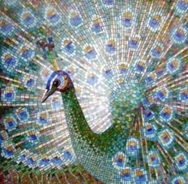 Необычная техника алмазной вышивки мозаикой