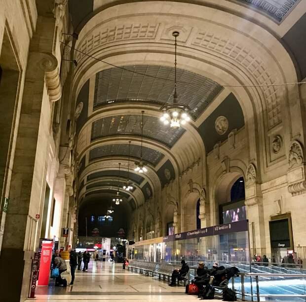Вокзал в Милане– самый красивый, среди всех, которых я видел!
