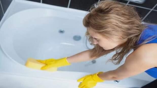 Эти копеечные средства отбеливают самую запущенную ванну