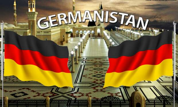 Нетолерантная Германия ислам не любит