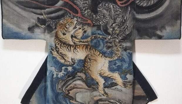 Одеяния японских пожарных 17–19 веков как отдельный вид искусства