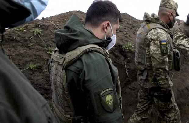 В ДНР распознали в шевроне с черепом на рукаве Зеленского «украинский план Б»