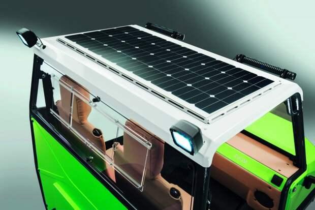 Бюджетный электрический внедорожник для Африки tum acar, авто, африка, вездеход, внедорожник, прототип, электрокар, электромобиль