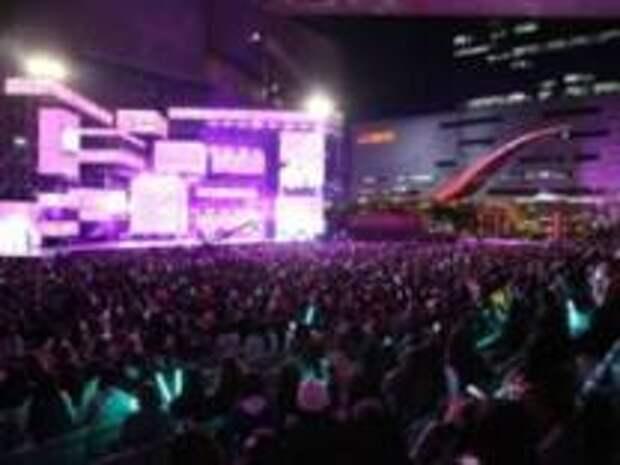 Открытие главного халлю фестиваля в Пусане