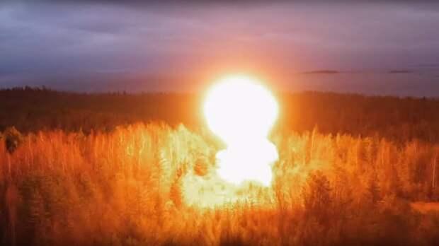 Военные испытали «ядерным взрывом» командный пункт РВСН