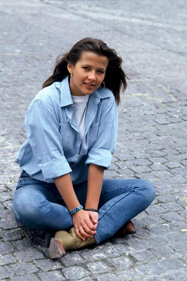 Юная ипрекрасная: 25 редких фото Софи Марсо из1980-х