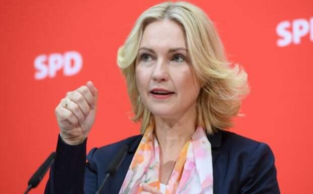 Focus: шантаж с целью навязать свой газ — премьер Мекленбурга осудила санкционные угрозы США