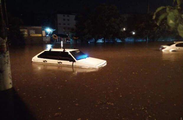 Одессу затопило после сильного ливня, часть города осталась без света (ФОТО, ВИДЕО)