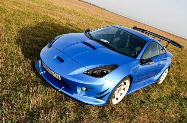 Лучшее спортивное купе за 350 тыс. руб-Toyota celica. Или как не остаться незамеченным.