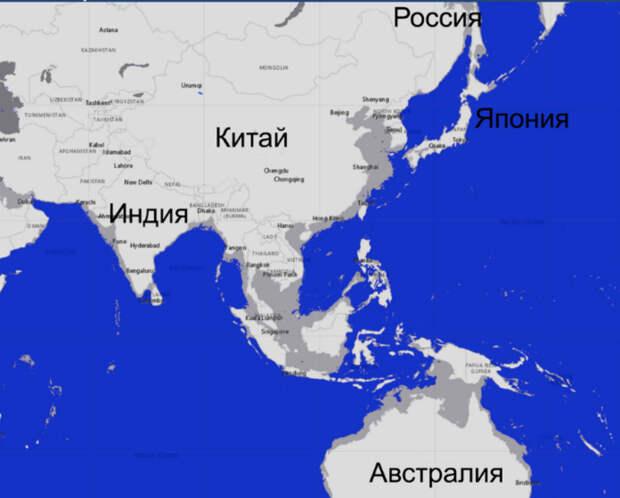 Как будет выглядеть Россия и мир, если уровень океана упадет на 100 метров: смотрим карты ученых