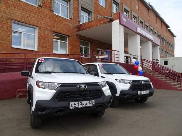 Главврачам участковых больниц Тангуя и Харанжино в Братском районе передали автомобили