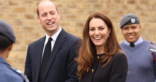 Герцоги Кембриджские впервые вышли в свет после похорон принца Филиппа