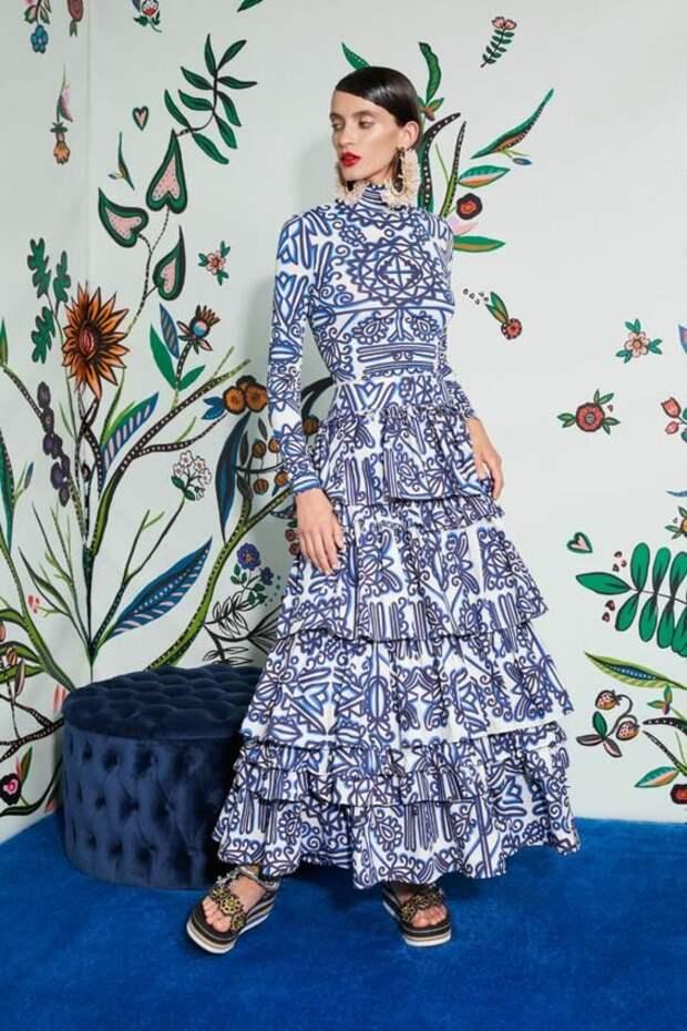 Платья с самым модными принтами сезона весна-лето 2021