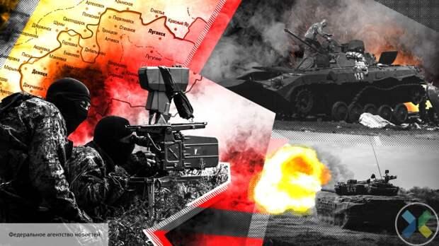 Киев разместил военную технику в жилых районах вблизи ЛНР