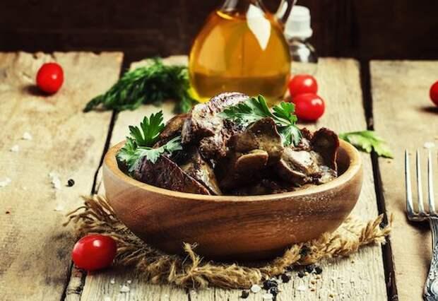 Рецепты вкусных блюд из свиной печени
