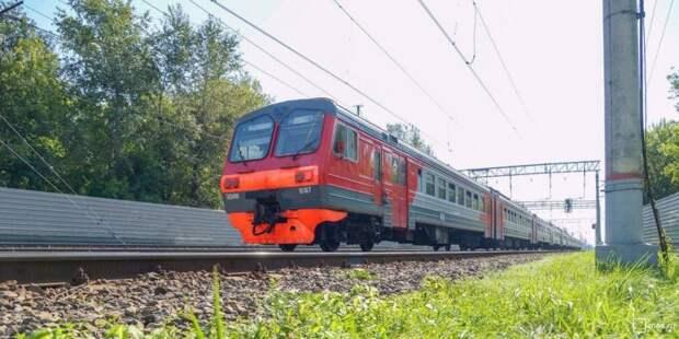 Часть электричек от станций Молжаниново и Новоподрезково отменены до 23 сентября