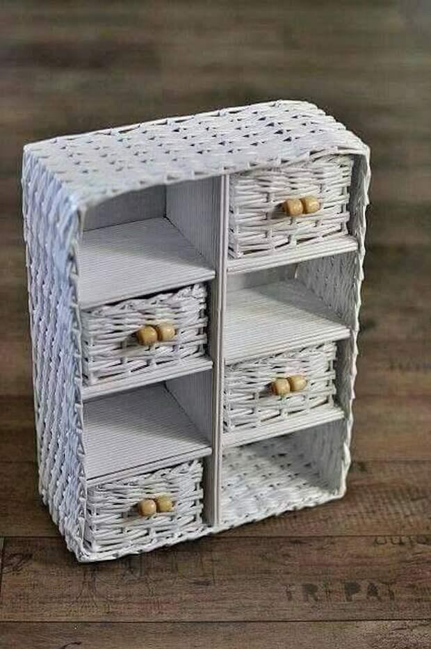 Самое разное творчество из бумажных трубочек
