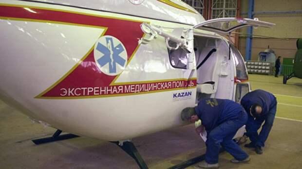 Китай можно считать стартовым заказчиком вертолета «Ансат»