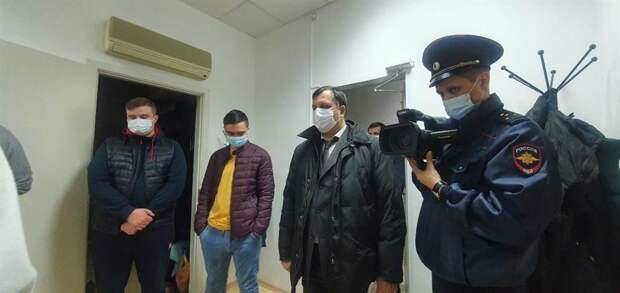 В Штаб Навального в Томске пришла полиция