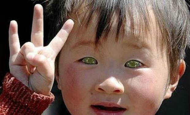 В Китае родился ребенок нового типа человека