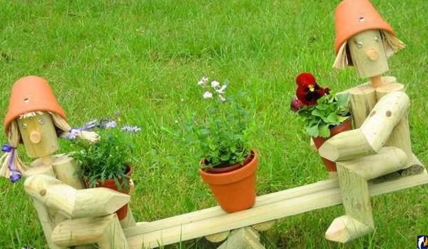 Классные идеи для вашего дворика