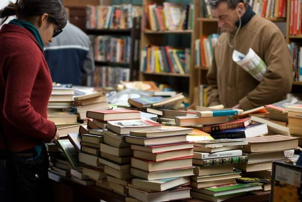 Жителей Ижевска пригласили поучаствовать в книгообмене