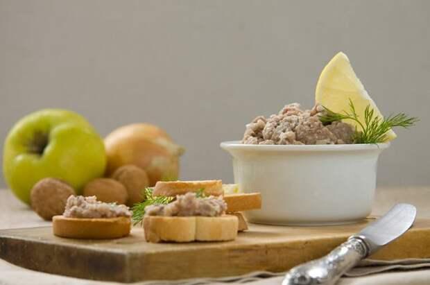 Закуски еврейской кухни